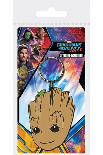 Guardians of the Galaxy Vol. 2 Rubber Keychain Baby Groot 6 cm