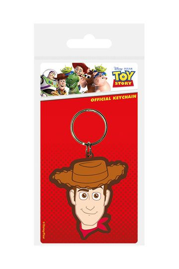 Toy Story Rubber Keychain Woody 6 cm