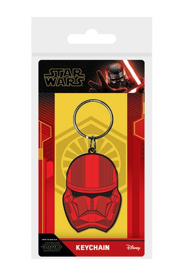 Star Wars Episode IX Rubber Keychain Sith Trooper 6 cm